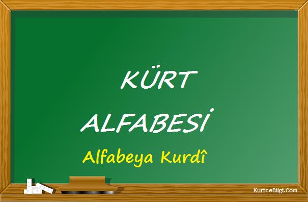 Kürt Latin Alfabesi