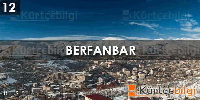 Berfanbar - Kürtçe Bilgi