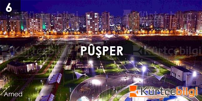 Pûşper - Kürtçe Bilgi